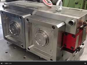 Video test fonctionnement ejection moule pour injection plastique
